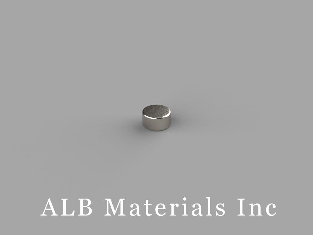 D3H1 Neodymium Magnets, 3/16 inch dia. x 1/10 inch thick