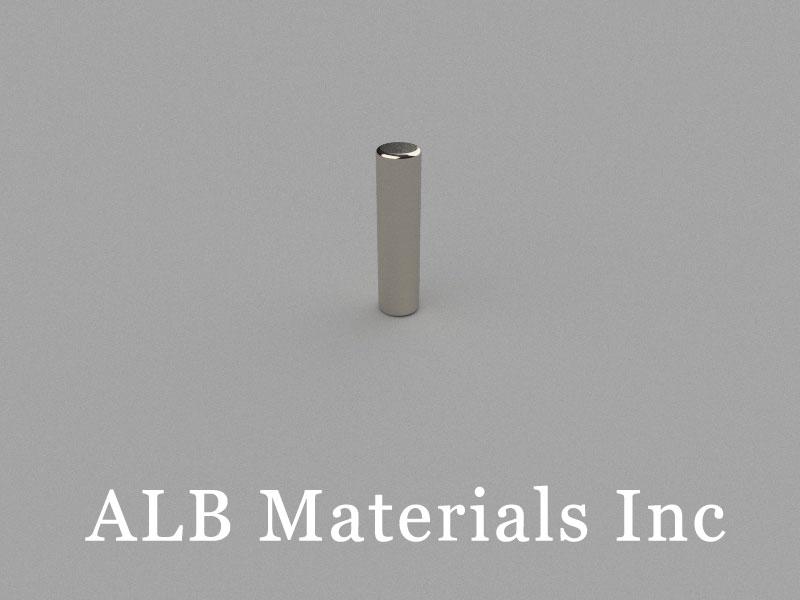 D3x12mm Neodymium Magnet, 3 x 12mm Cylinder Magnet