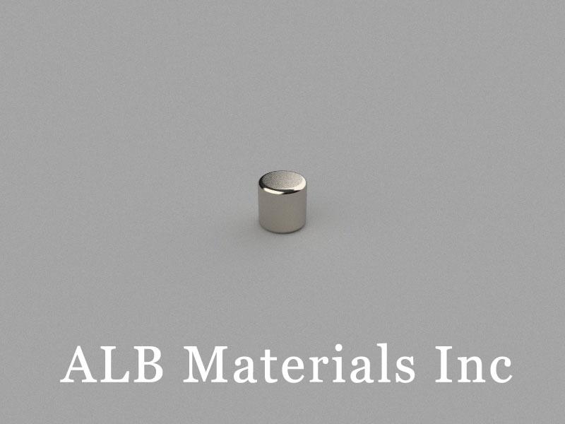 C-D3H3-N45 Neodymium Magnet, 3x3mm Cylinder Magnet