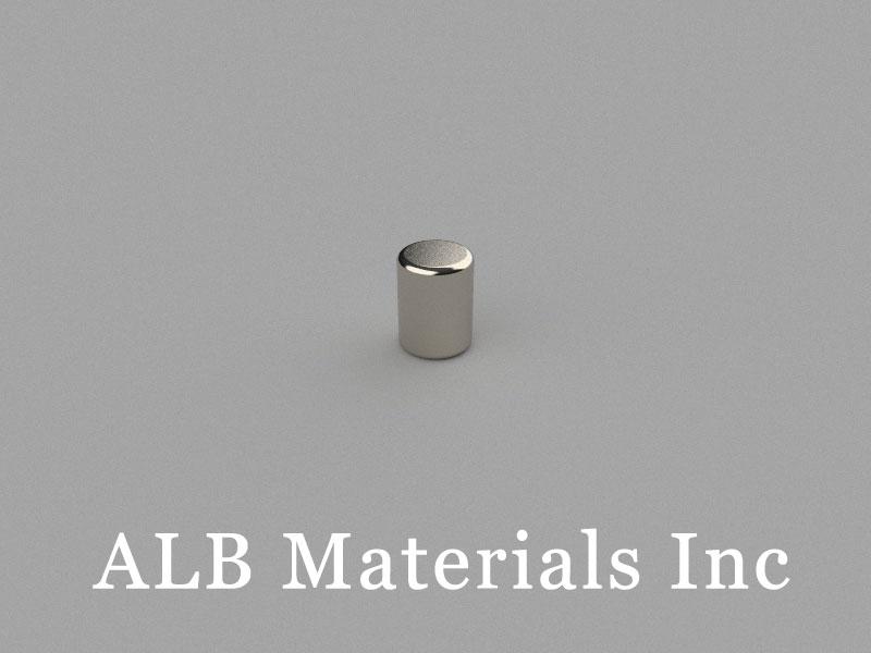 D3x4mm Neodymium Magnet, 3 x 4mm Cylinder Magnet
