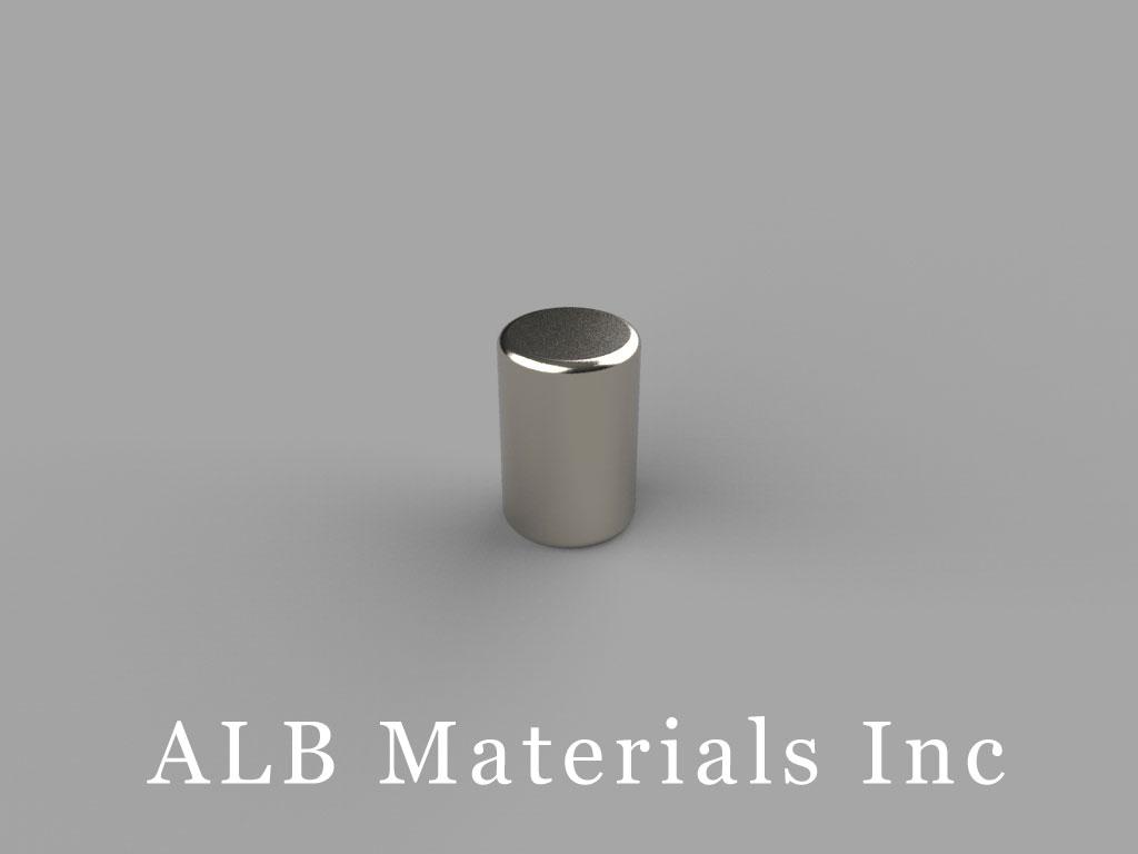 "D46 Neodymium Magnets, 1/4"" dia. x 3/8"" thick"