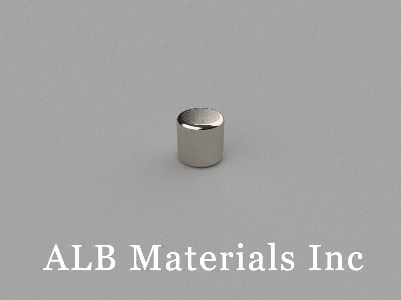 D4x4mm Neodymium Magnet, 4 x 4mm Cylinder Magnet