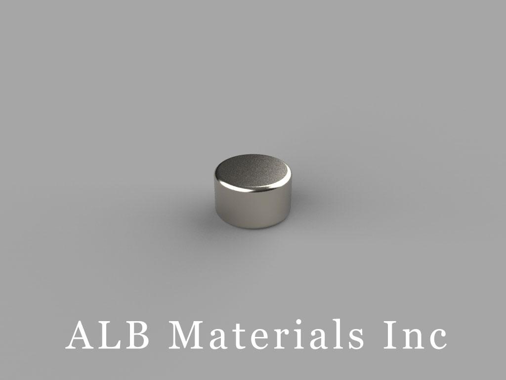 D53 Neodymium Magnets, 5/16 inch dia. x 3/16 inch thick
