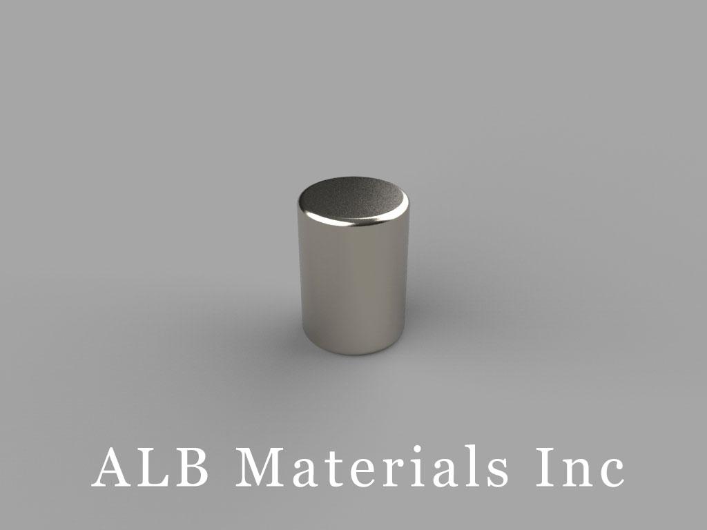 D57 Neodymium Magnets, 5/16 inch dia. x 7/16 inch thick