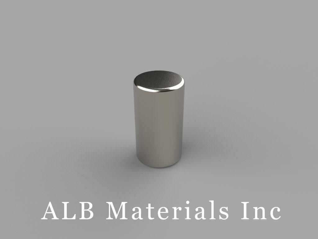 D59 Neodymium Magnets, 5/16 inch dia. x 9/16 inch thick