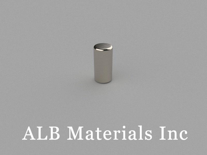 C-D5H10-N50 Neodymium Magnet, 5x10mm Cylinder Magnet