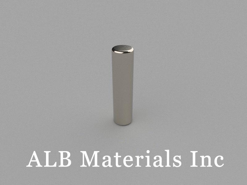 D5x20mm Neodymium Magnet, 5 x 20mm Cylinder Magnet