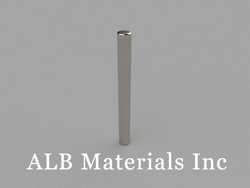 D5x50mm Neodymium Magnet, 5 x 50mm Cylinder Magnet
