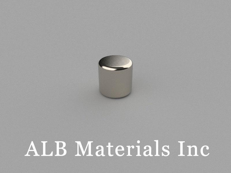 C-D5H5-N50M Neodymium Magnet, 5x5mm Cylinder Magnet