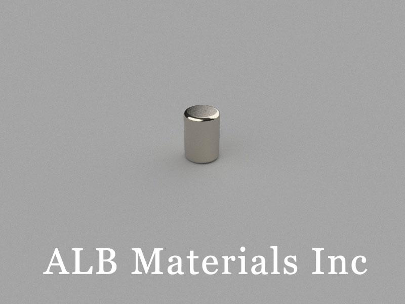 D5x7mm Neodymium Magnet, 5 x 7mm Cylinder Magnet