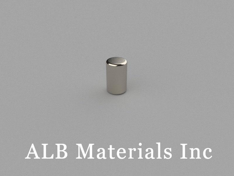 D5x8mm Neodymium Magnet, 5 x 8mm Cylinder Magnet