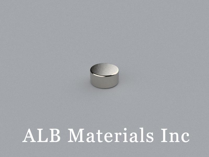 D-D6.35H3.175-N45 Neodymium Magnet, 6.35x3.175mm Disc Magnet