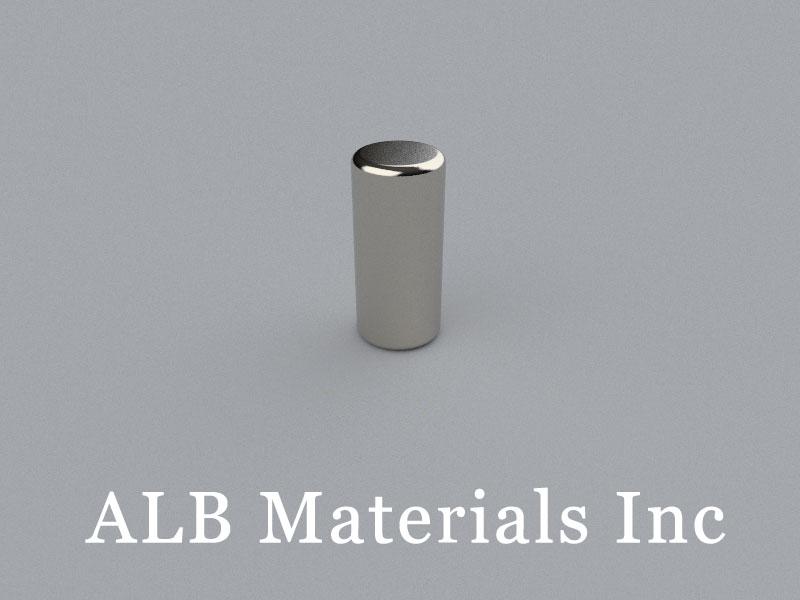 C-D6.85H15-N50M Neodymium Magnet, 6.85x15mm Cylinder Magnet