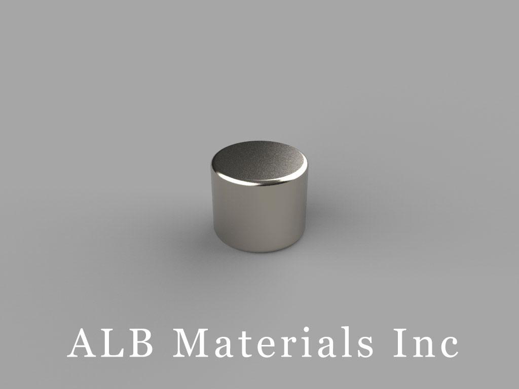 D65 Neodymium Magnets, 3/8 inch dia. x 5/16 inch thick