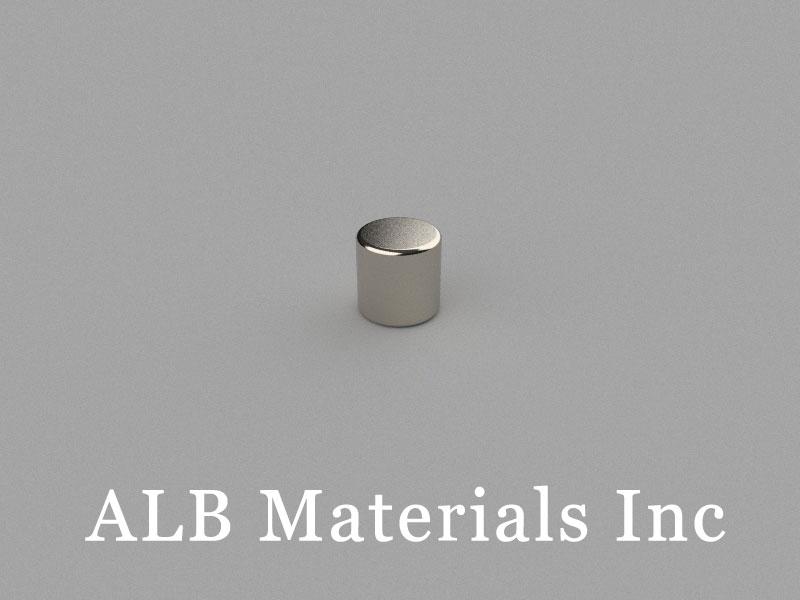 C-D6H6-N38 Neodymium Magnet, 6x6mm Cylinder Magnet