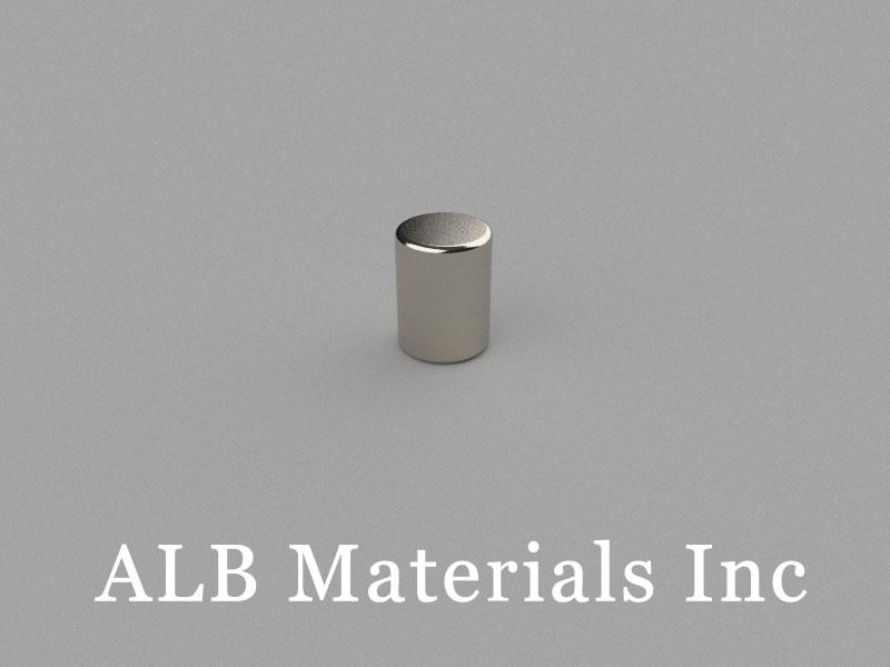 D6x8mm Neodymium Magnet, 6 x 8mm Cylinder Magnet