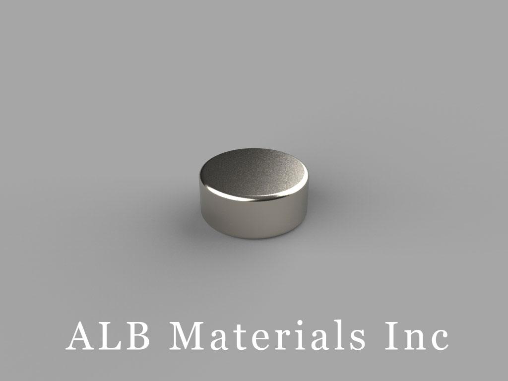 D73-N52 Neodymium Magnets, 7/16 inch dia. x 3/16 inch thick