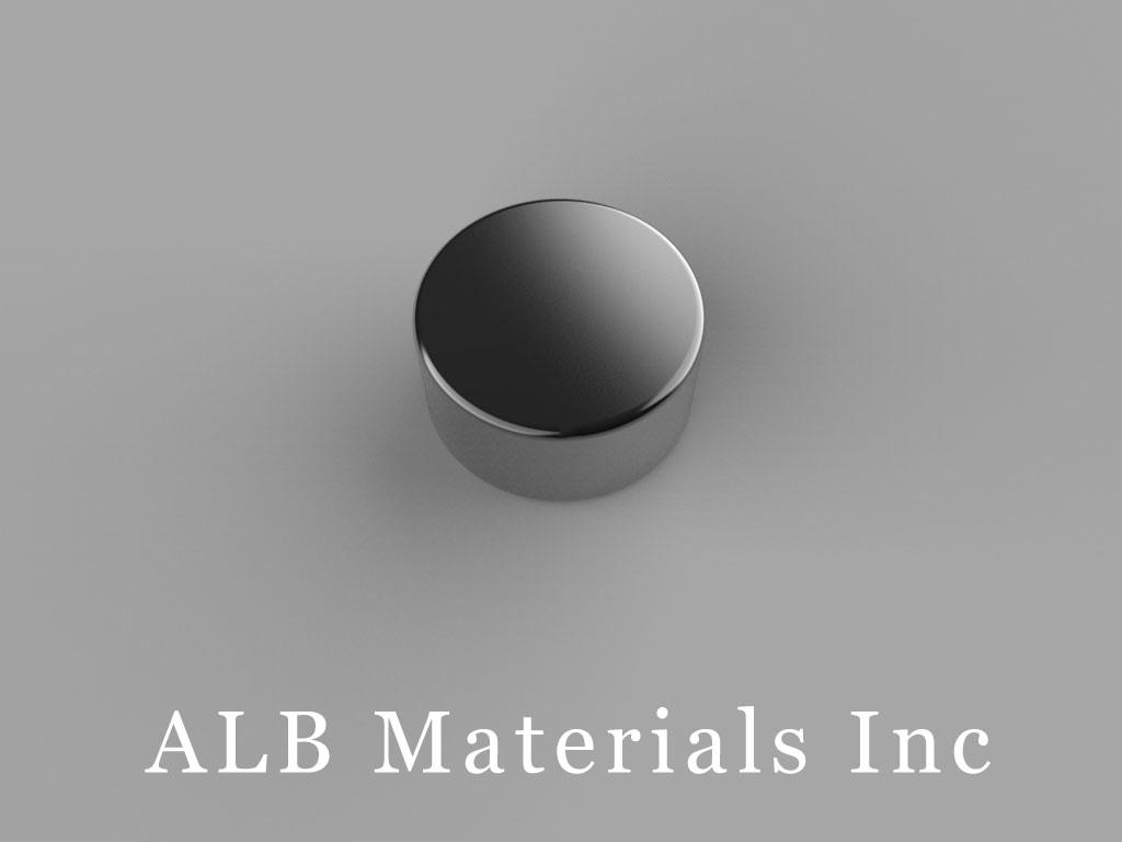 D84B-N52 Neodymium Magnets, 1/2 inch dia. x 1/4 inch thick