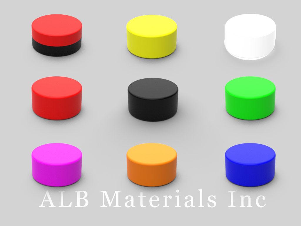 D84PC-AST Plastic Coated Neodymium Magnets