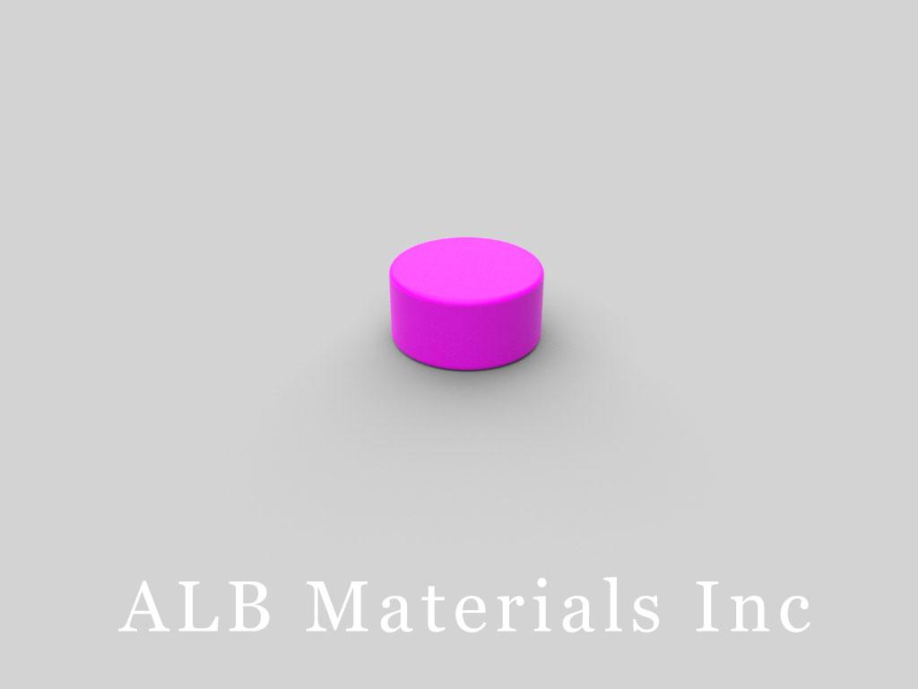 D84PC-PUR Plastic Coated Neodymium Magnets