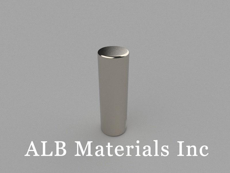 D8x25mm Neodymium Magnet, 8 x 25mm Cylinder Magnet