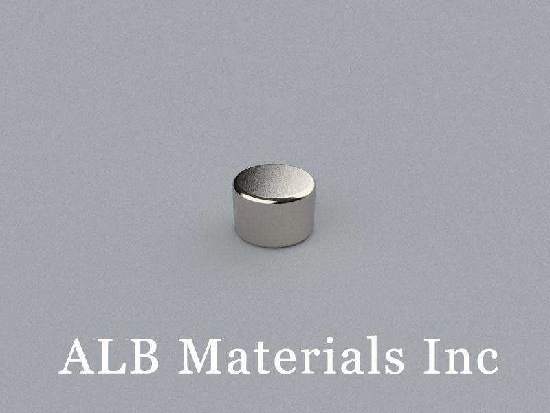 D-D9.5H6.35-N35 Neodymium Magnet, 9.5x6.35mm Disc Magnet