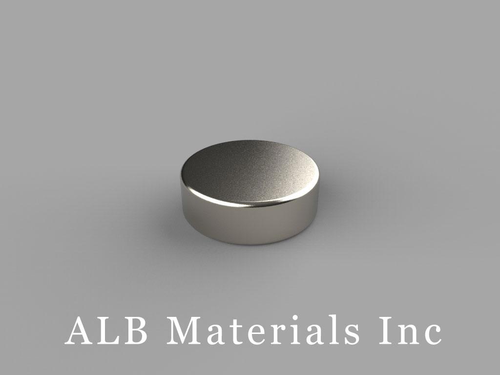 D93 Neodymium Magnets, 9/16 inch dia. x 3/16 inch thick