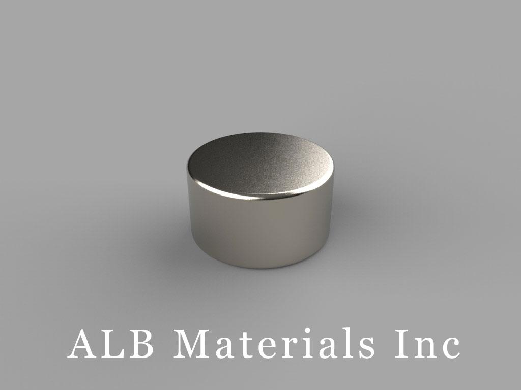 D95 Neodymium Magnets, 9/16 inch dia. x 5/16 inch thick