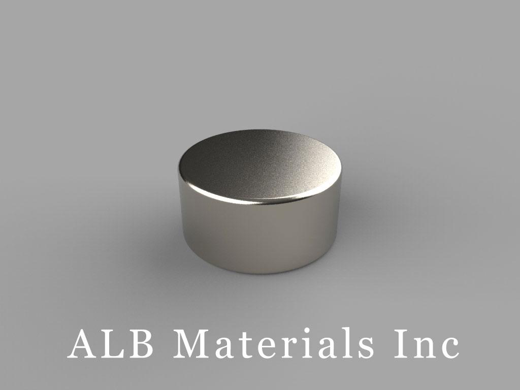 DA5 Neodymium Magnets, 5/8 inch dia. x 5/16 inch thick