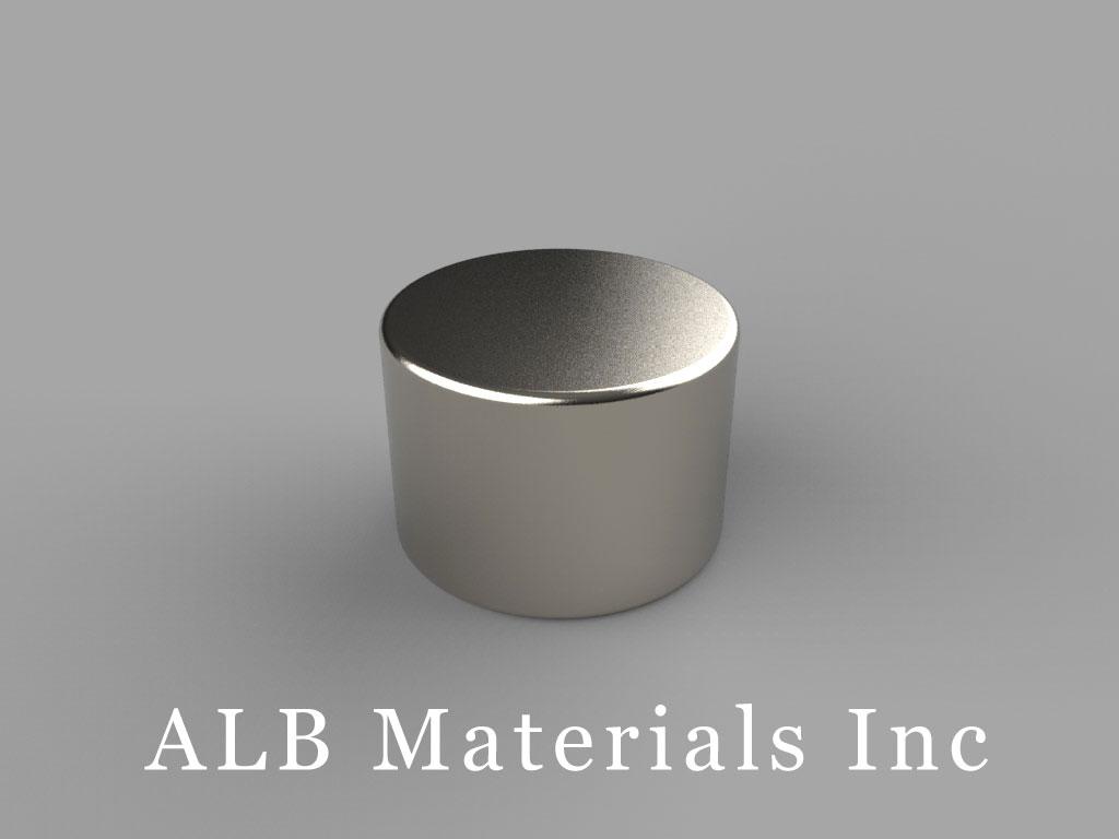 "DA7 Neodymium Magnets, 5/8"" dia. x 7/16"" thick"