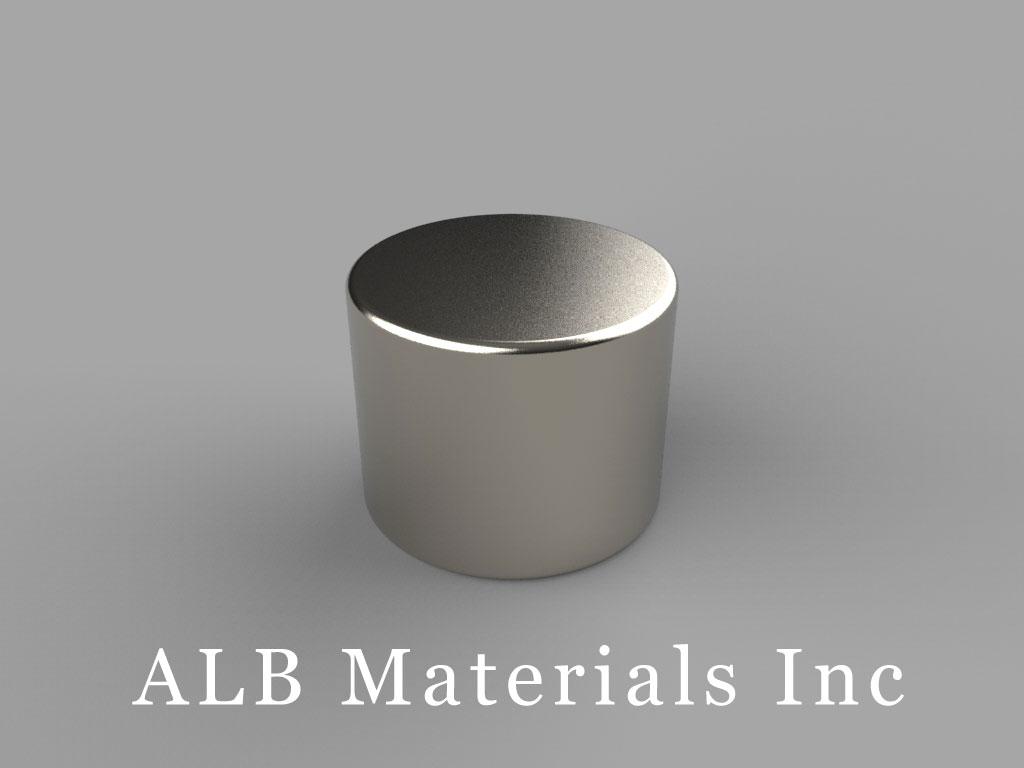 DA8 Neodymium Magnets, 5/8 inch dia. x 1/2 inch thick