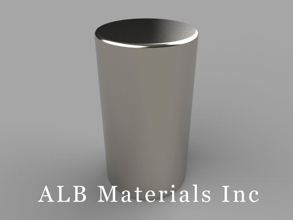 DAX2 Neodymium Magnets, 5/8 inch dia. x 1 1/8 inch thick