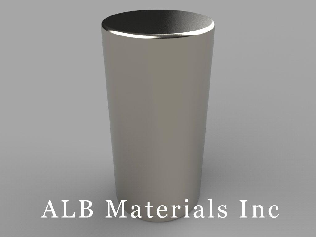 DAX4 Neodymium Magnets, 5/8 inch dia. x 1 1/4 inch thick