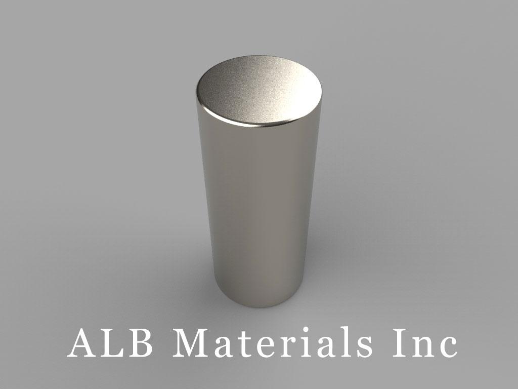 DAX8 Neodymium Magnets, 5/8 inch dia. x 1 1/2 inch thick