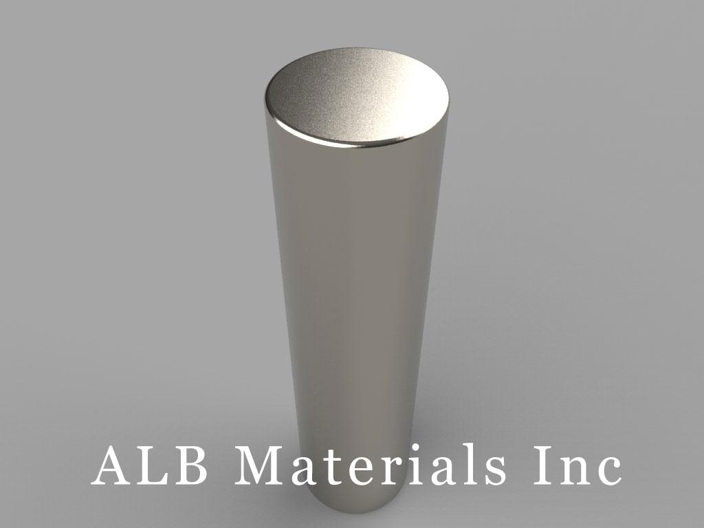 DAY8 Neodymium Magnets, 5/8 inch dia. x 2 1/2 inch thick