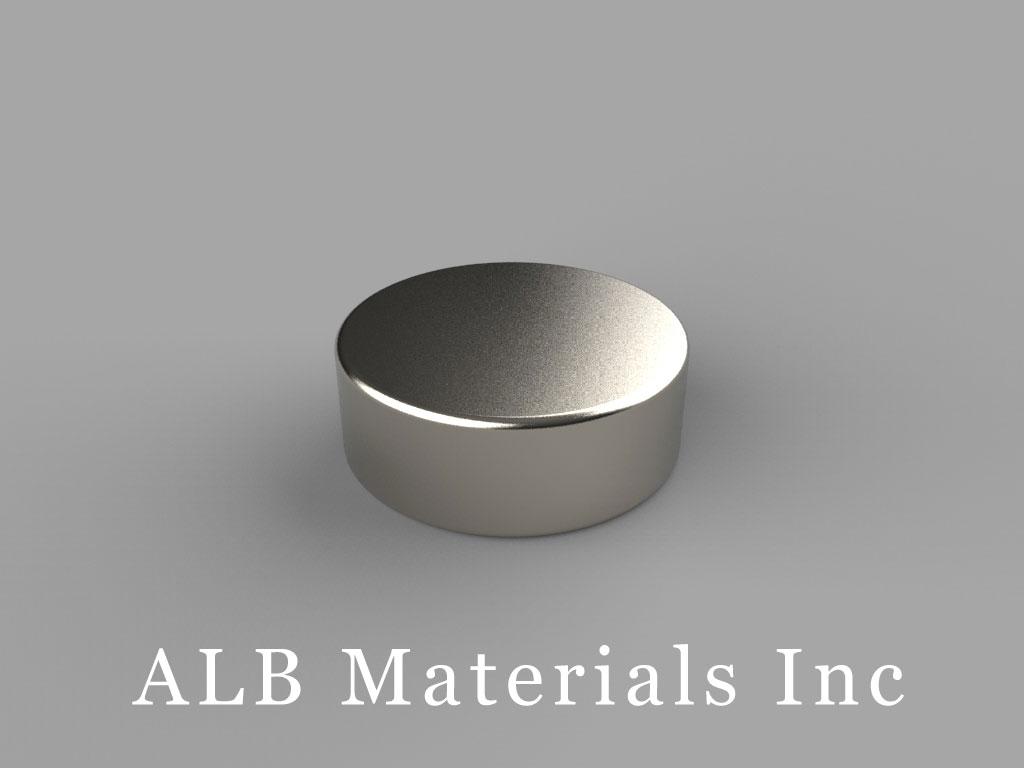 DB4 Neodymium Magnets, 11/16 inch dia. x 1/4 inch thick