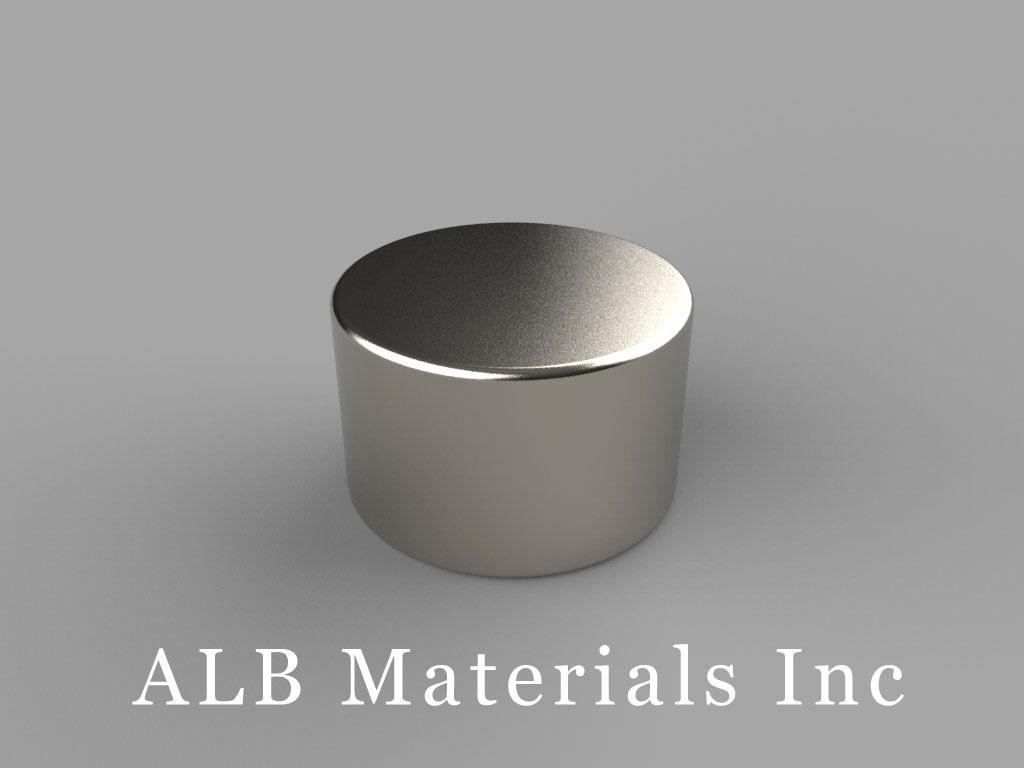DB7 Neodymium Magnets, 11/16 inch dia. x 7/16 inch thick