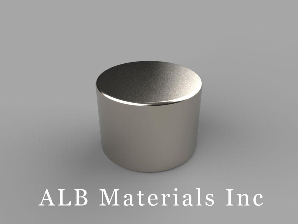 DB8 Neodymium Magnets, 11/16 inch dia. x 1/2 inch thick