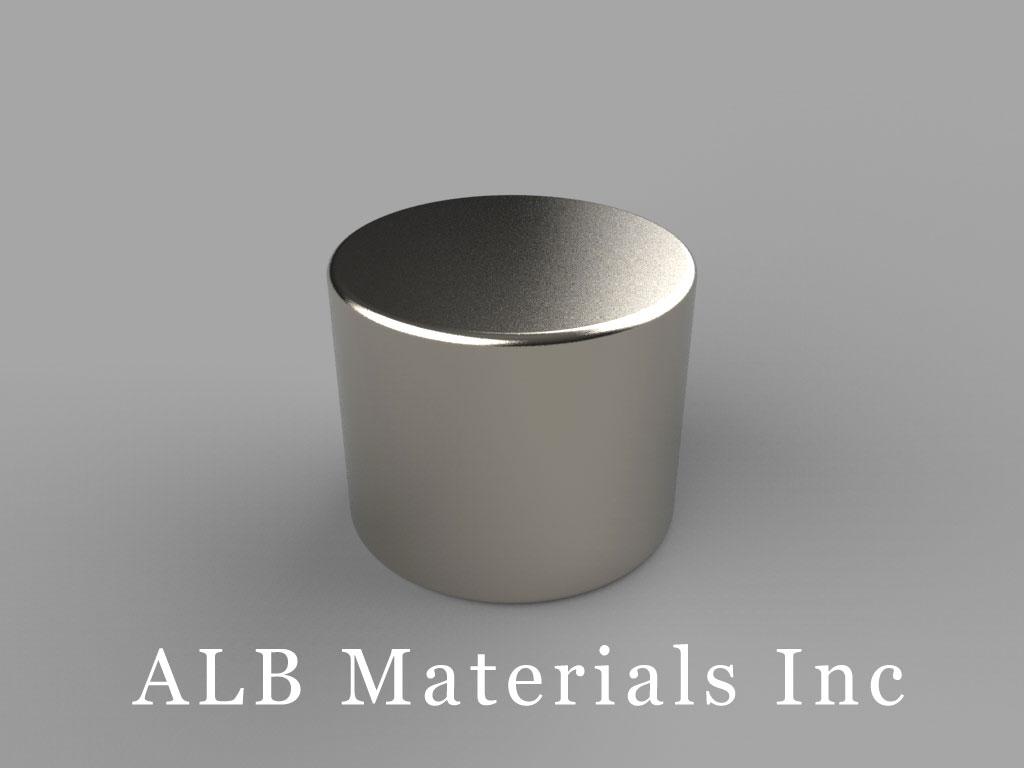 "DB9 Neodymium Magnets, 11/16"" dia. x 9/16"" thick"