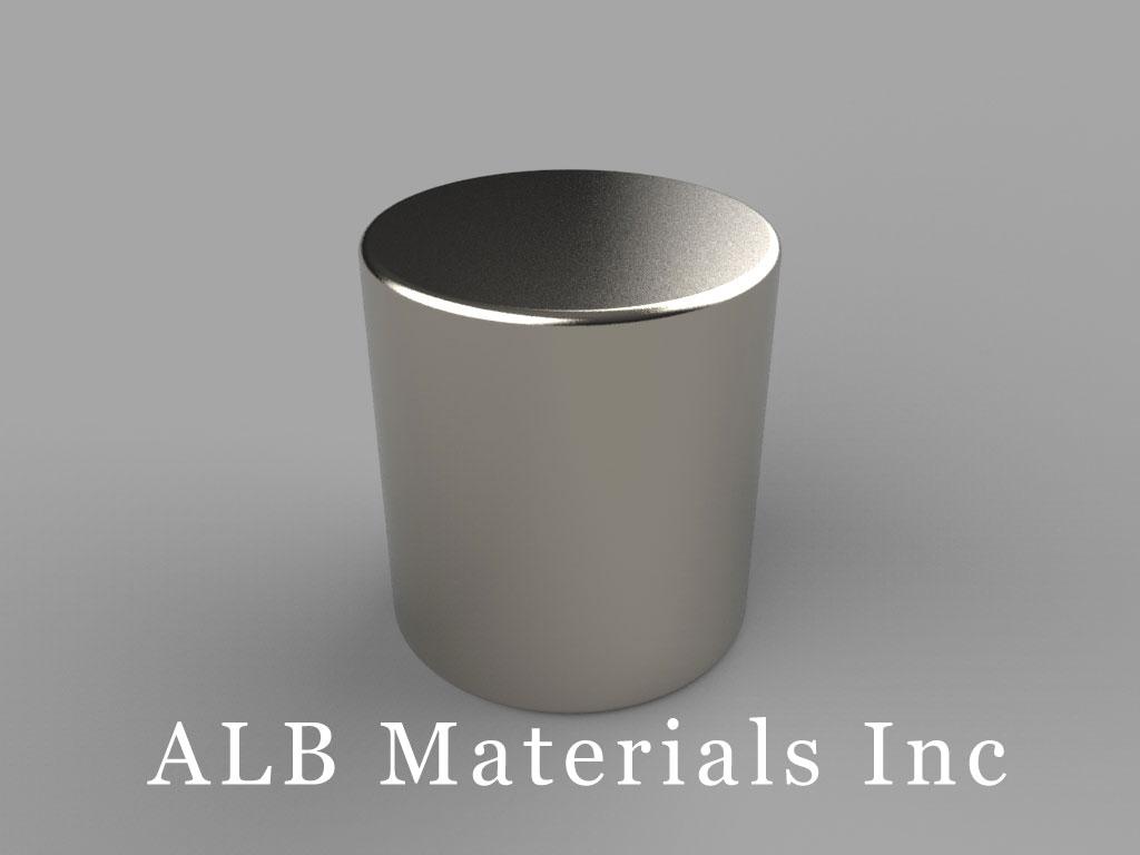 DBC Neodymium Magnets, 11/16 inch dia. x 3/4 inch thick