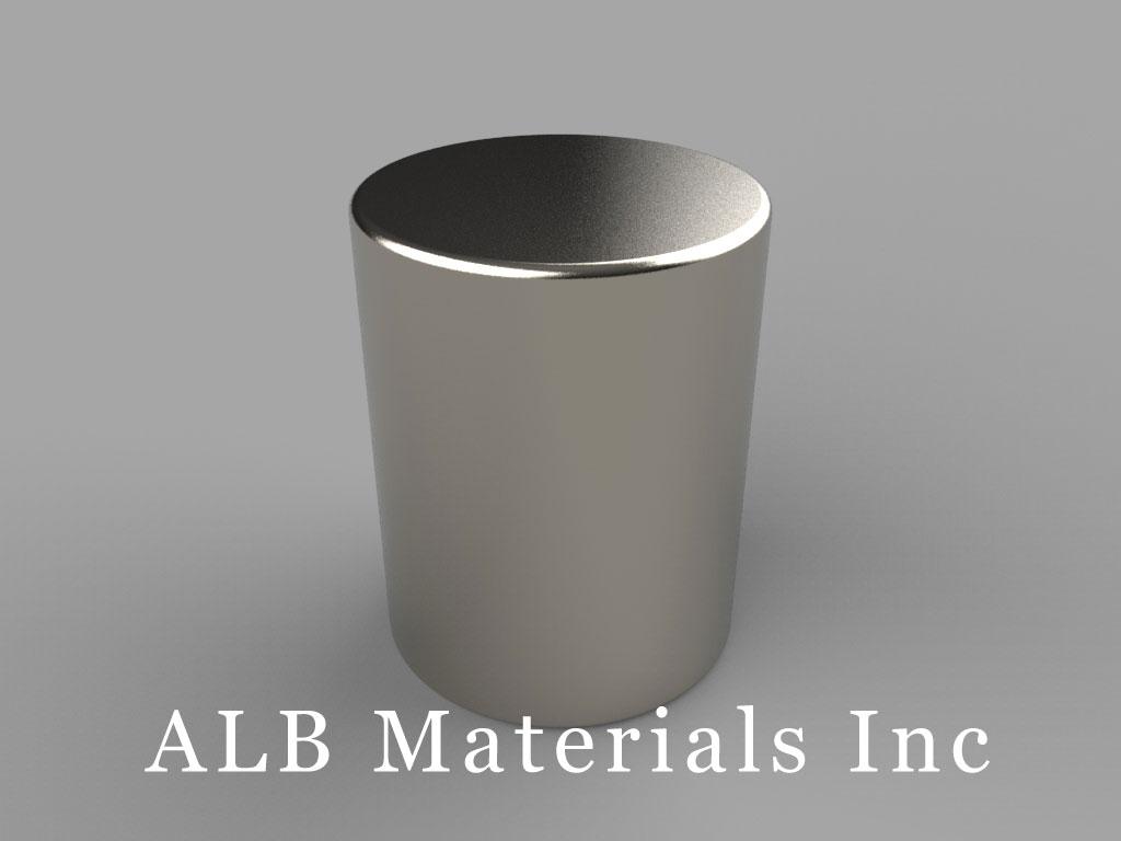 DBE Neodymium Magnets, 11/16 inch dia. x 7/8 inch thick