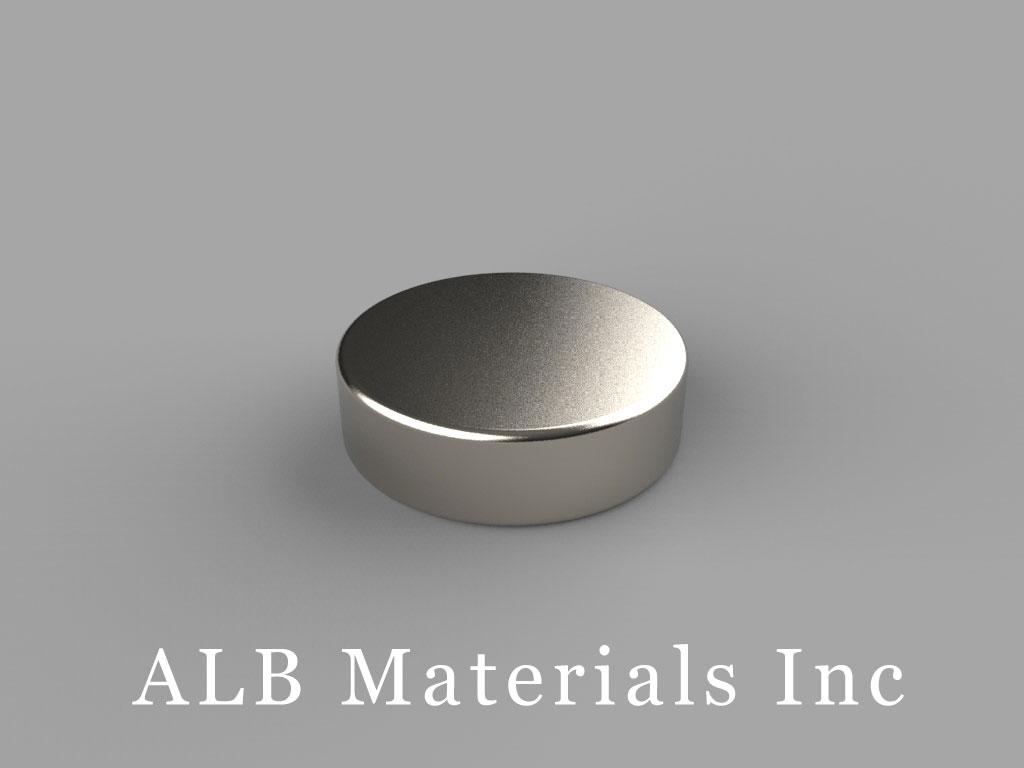 DBH2 Neodymium Magnets, 11/16 inch dia. x 2/10 inch thick