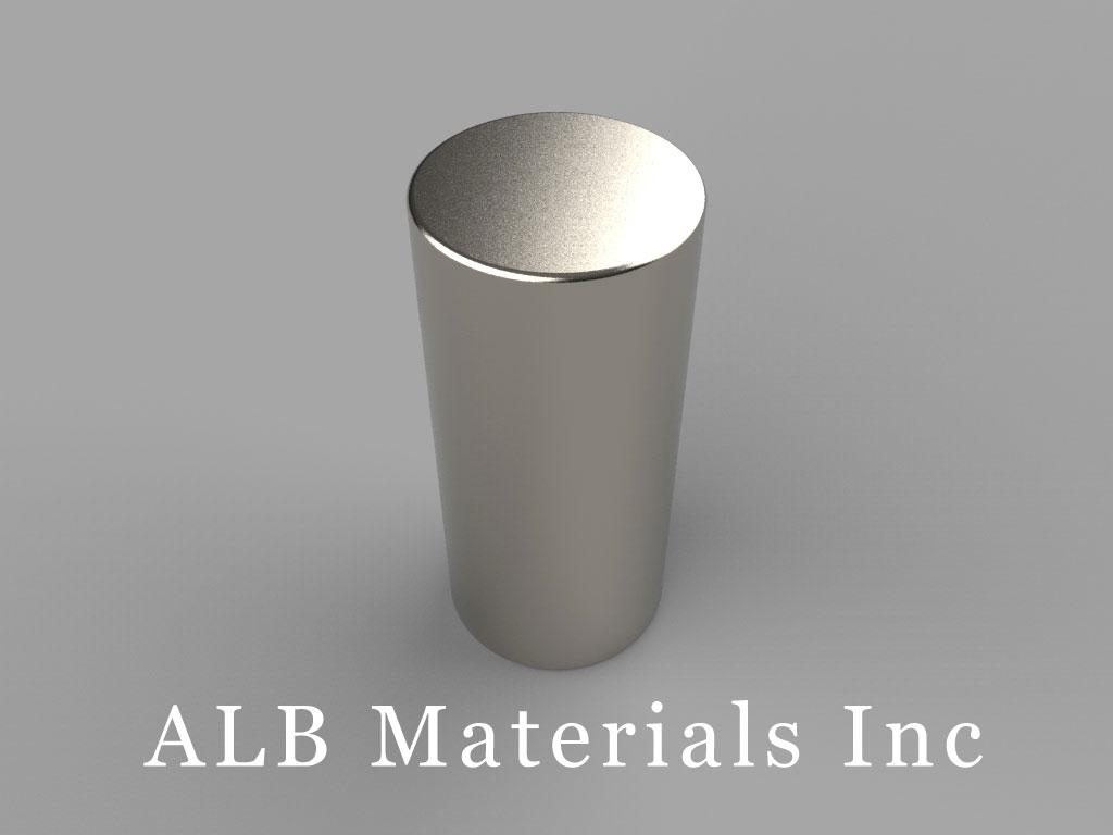 DBX8 Neodymium Magnets, 11/16 inch dia. x 1 1/2 inch thick