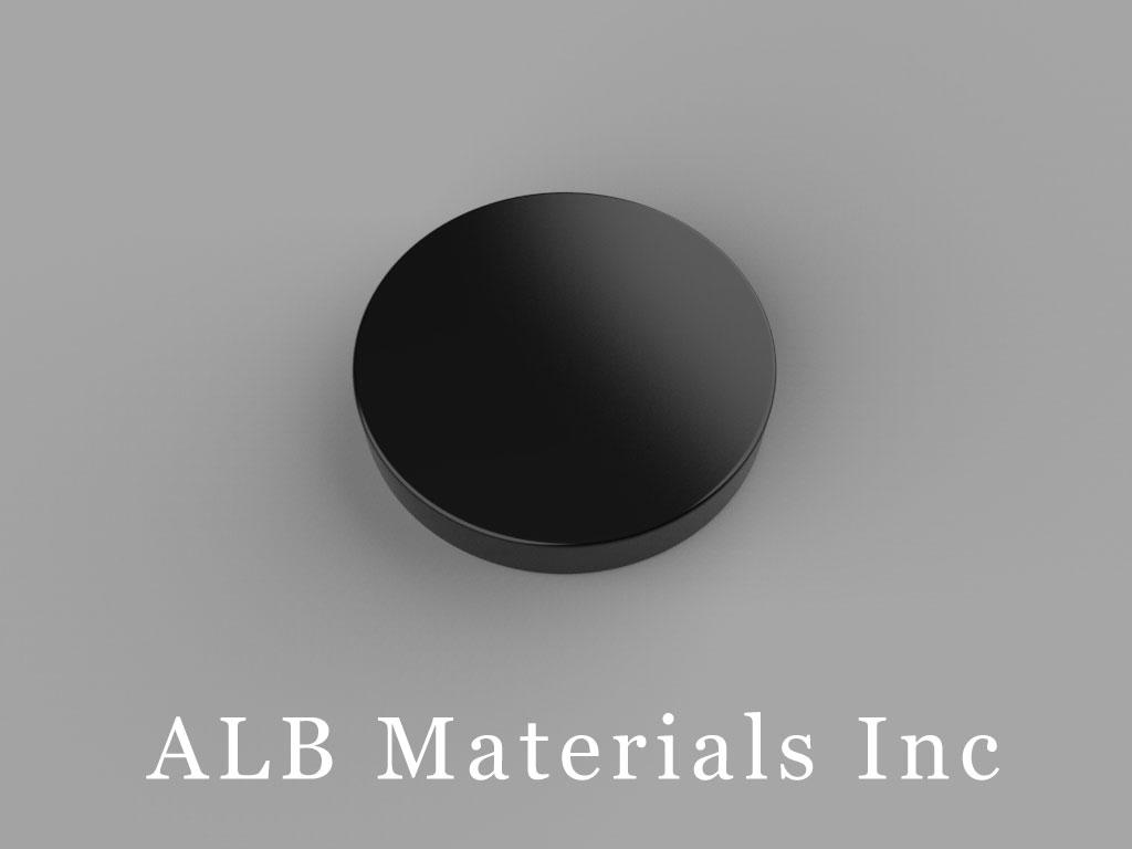DC2E Neodymium Magnets, 3/4 inch dia. x 1/8 inch thick