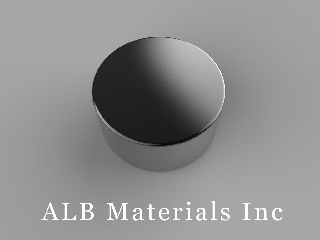 DC6B-N52 Neodymium Magnets, 3/4 inch dia. x 3/8 inch thick