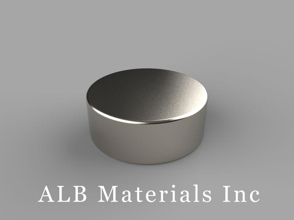 DD5 Neodymium Magnets, 13/16 inch dia. x 5/16 inch thick