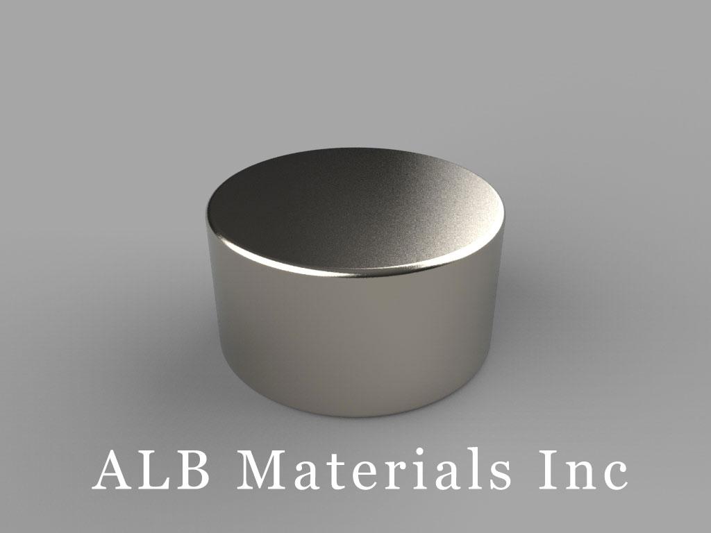 DD7 Neodymium Magnets, 13/16 inch dia. x 7/16 inch thick