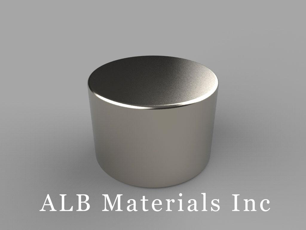 DD9 Neodymium Magnets, 13/16 inch dia. x 9/16 inch thick