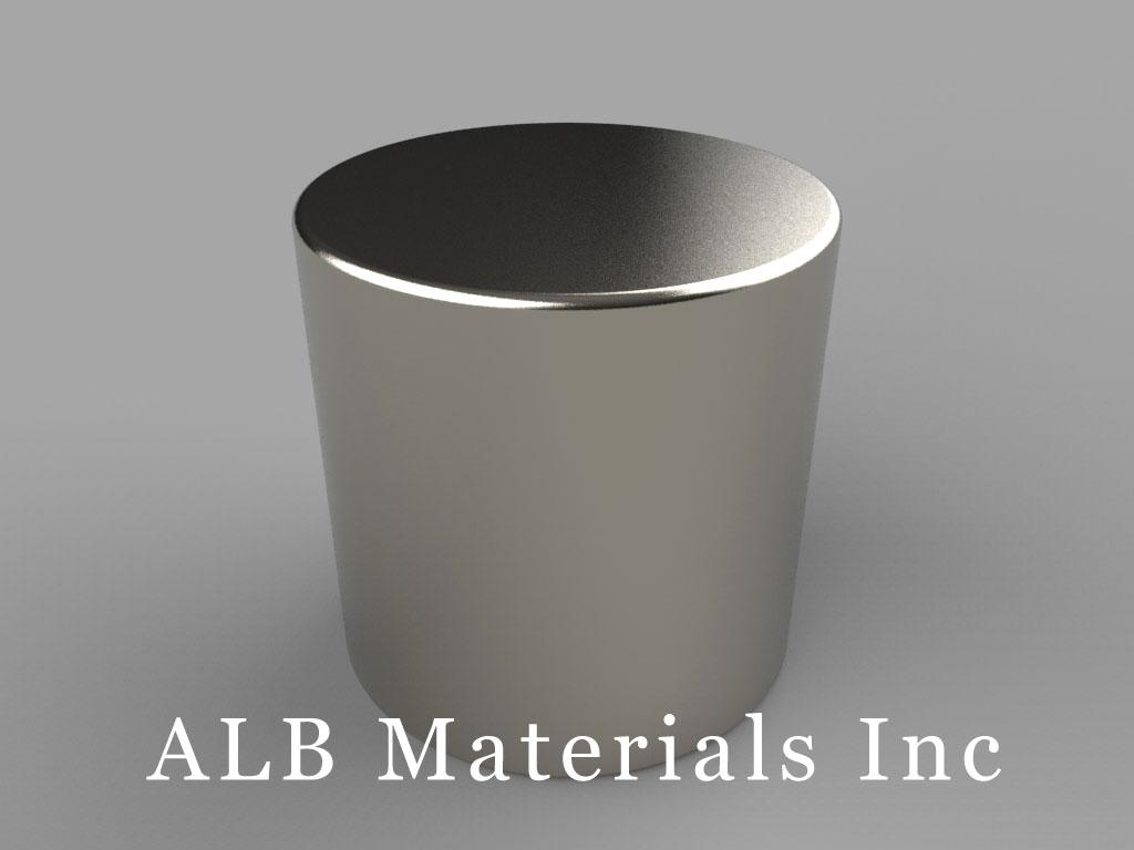 DEE Neodymium Magnets, 7/8 inch dia. x 7/8 inch thick