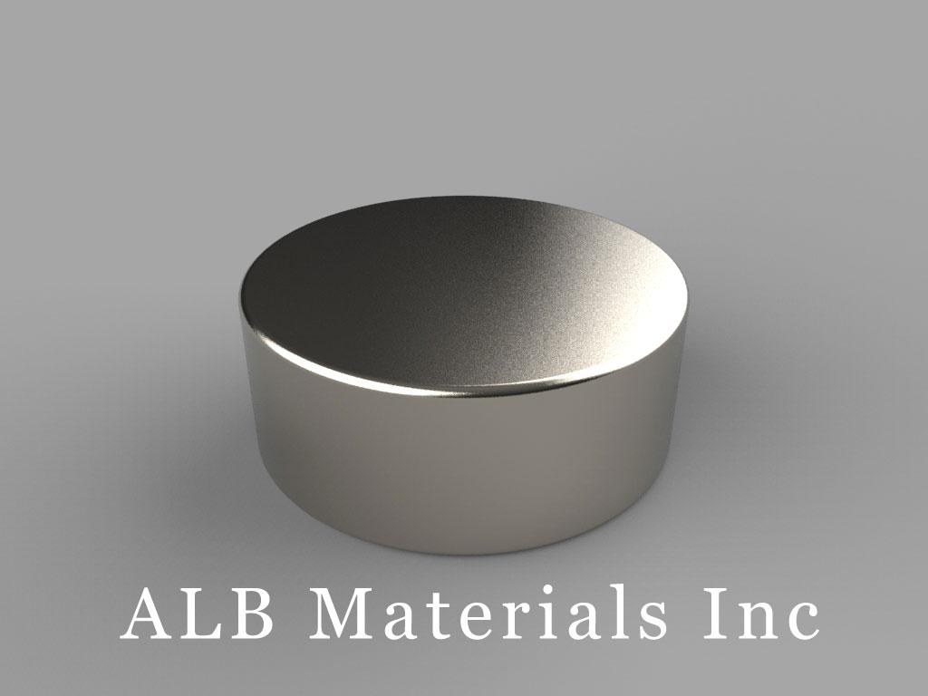 DF6 Neodymium Magnets, 15/16 inch dia. x 3/8 inch thick